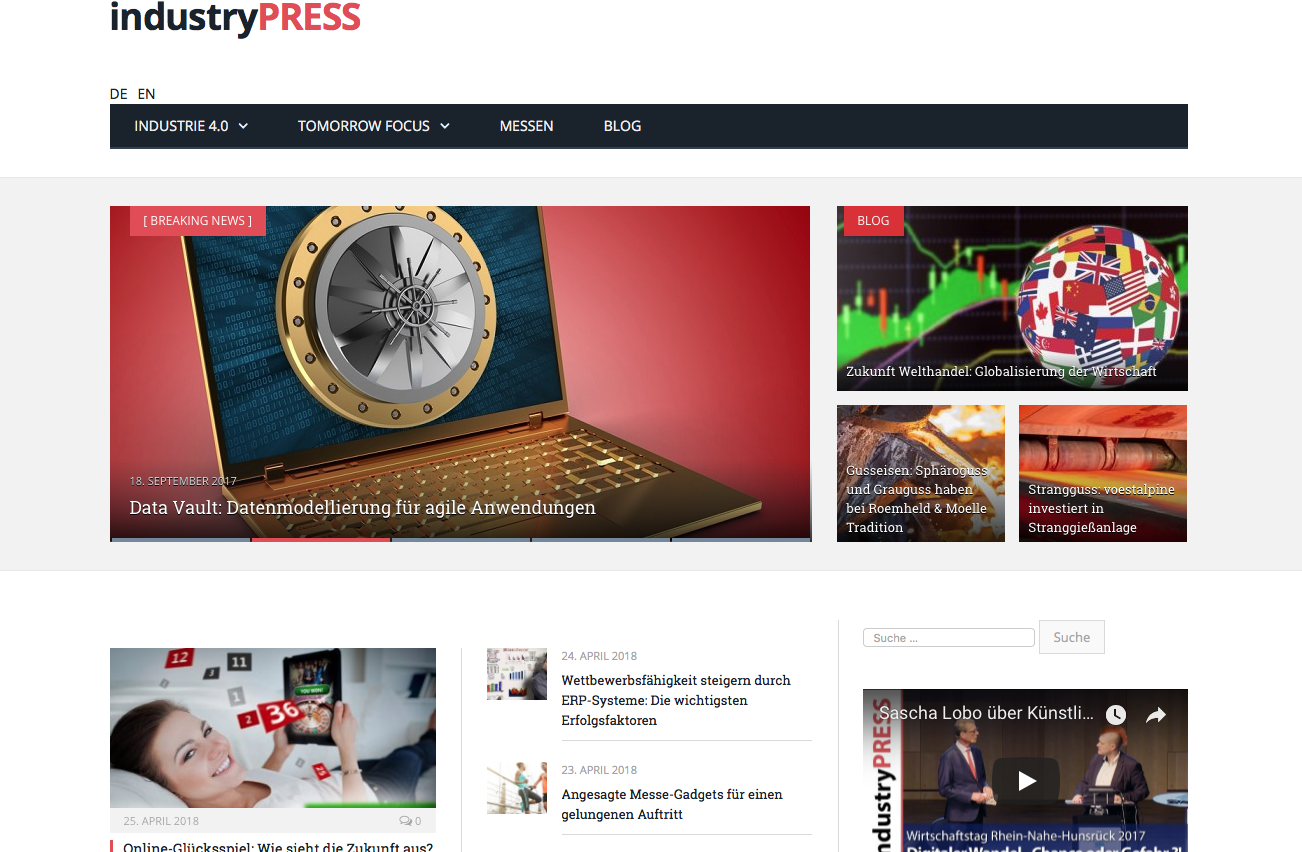 Website industryPRESS