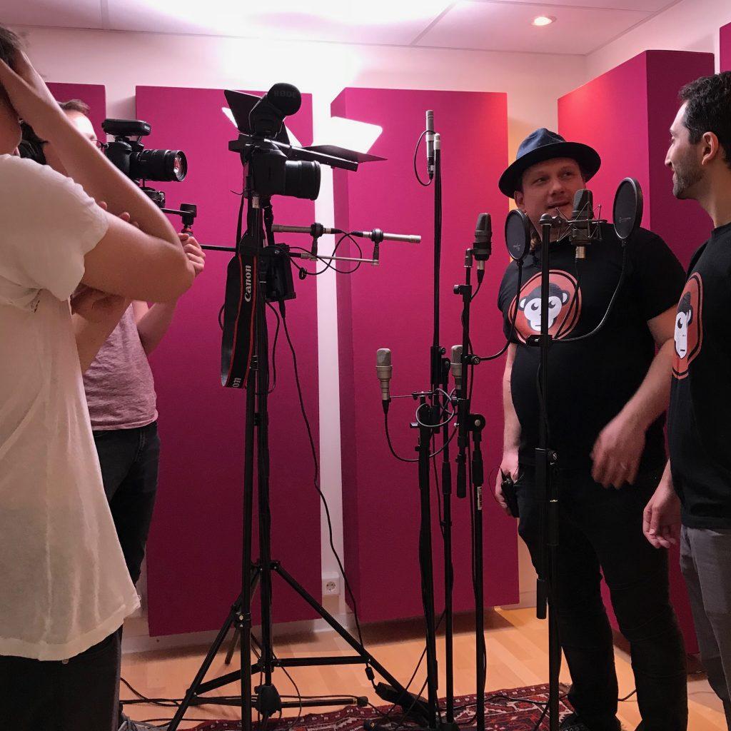 Videodreh MediaApes Behind the scenes