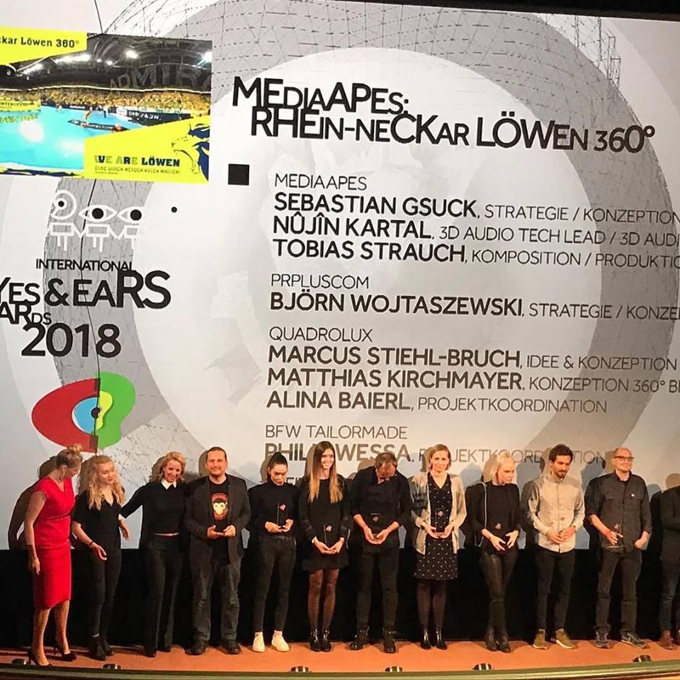 Digital Innovation: 1. Preis für Rhein-Neckar Löwen 360°