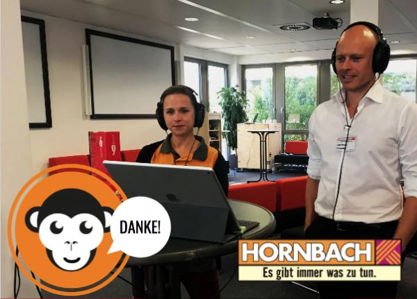 MediaApes bei Hornbach
